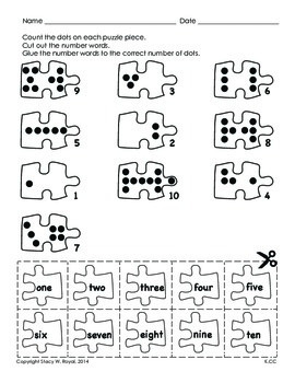 FREE Common Core Activity  for  Counting Practice