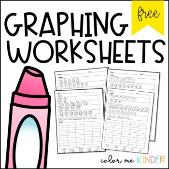 Graphing NO PREP Printables for Little Learners