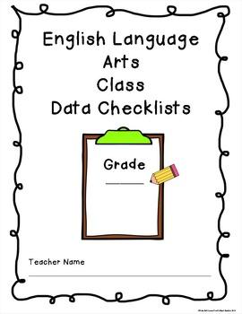 Data Checklist Binder Covers