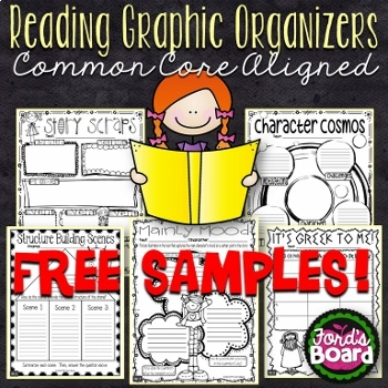 FREE Reading Graphic Organizers
