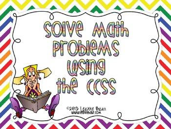 {FREE} Common Core:  Solve Math Problems Using the CCSS