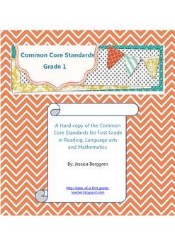 {FREE} Common Core Standards:Grade 1