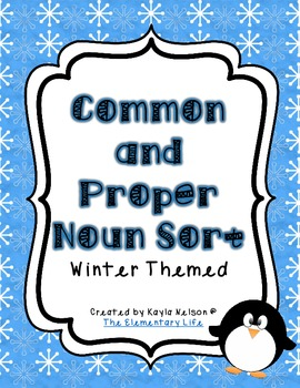 Common and Proper Noun Sort