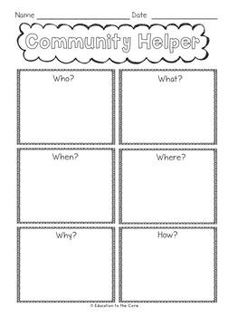 Community Helpers Free
