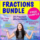 FREE - Comparing  Fractions