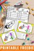 FREE Comparing Fractions Visual Models Task Cards Math Gam