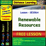 FREE Complete Video Lesson on RENEWABLE RESOURCES for Dist