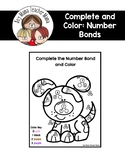 FREE Complete the Number Bond and Color