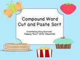 FREE Compound Word Cut and Paste Sort