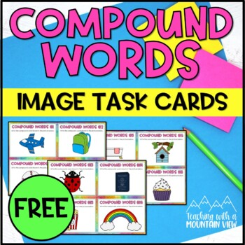image relating to Printable Compound Word Games titled *Cost-free* Material Phrase Photos Job Playing cards