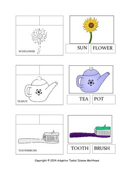 FREE Compound Word Task