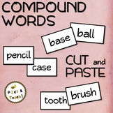 FREE - Compound words - CUT and PASTE activity