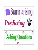 FREE Comprehension Strategy and Skill Cards