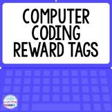FREE Computer Coding Reward Tags