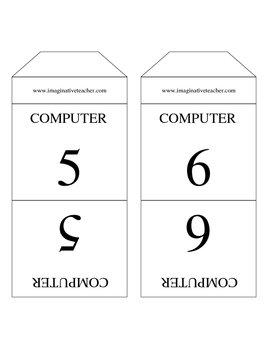 FREE Computer Designation Stand Ups