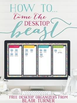 {FREE!} Computer Desktop Organizers