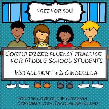FREE Interactive PowerPoint Fluency Practice:Cinderella
