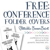 FREE: Conference Folder Covers