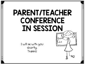 FREE Conference Sign