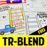 Consonant Blend TR Word Work Activity Printable