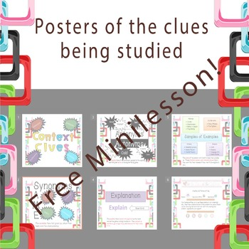 FREE Context Clues Minilesson