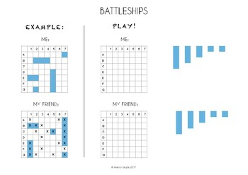 FREE Cool Printable Battleships Board - small