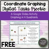 FREE Coordinate Graphing in Four Quadrants Google Slide Activity