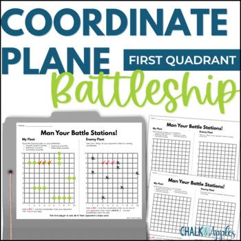 FREE Coordinate Grid Battleship Game