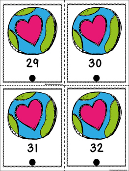 FREE Count And Link -Earth Day