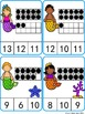 {FREE} Count and Clip Cards: Mermaid Ten Frame (Numbers 1-20)