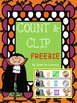 {FREE} Count and Clip Halloween #s 1-10