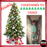 FREE Countdown to Christmas Chain