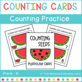 FREE Counting Activity - Watermelon Seed Counting