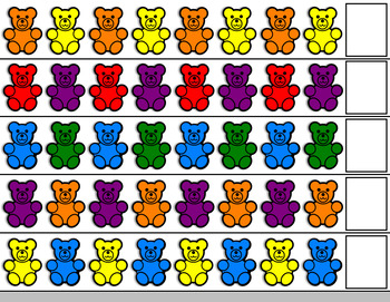 Free Counting Bears Pattern Cards By Easy Peasy Lemon Squeezy Tpt
