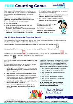 FREE Counting Game