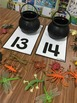 FREE Counting Mats for Halloween
