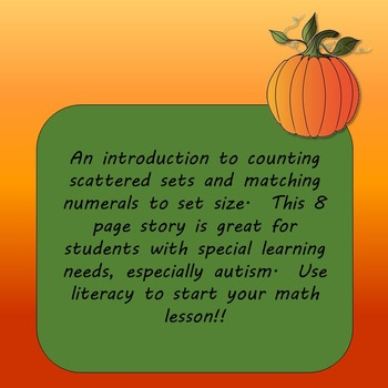 FREE Counting Pumpkins : A Math Story