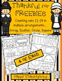 FREE Counting Teens 11-19 in Multiple Arrangements