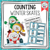 FREE Counting Winter Skates 0-20