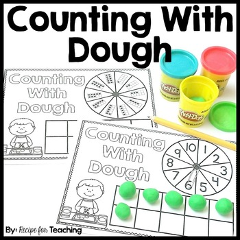 FREE Counting With Dough