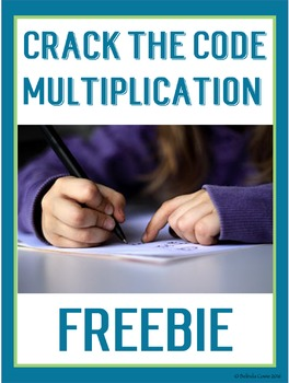 FREE Crack the Codes for Multiplication Math Fact Practise