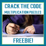 FREE Crack the Codes for Distance Learning Multiplication