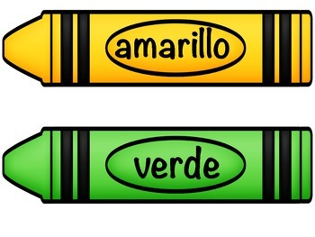 how to say crayon in spanish