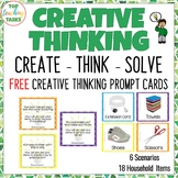 Creative and Lateral Thinking Prompt Cards FREE