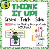 FREE Creative Thinking Problem Solving Cards NZ AU Spelling