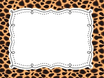 FREE Create-Your-Own Zoo Animal Print Jungle Safari Backgrounds Landscape