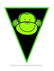 {FREE} Create a Colorful Monkey Bunting