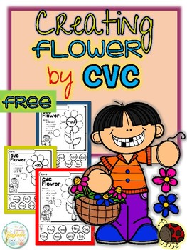 FREE Creating Flower By CVC