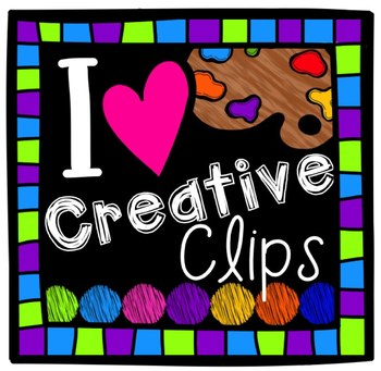 FREE Creative Clips Fan Sticker {Creative Clips Digital Clipart}