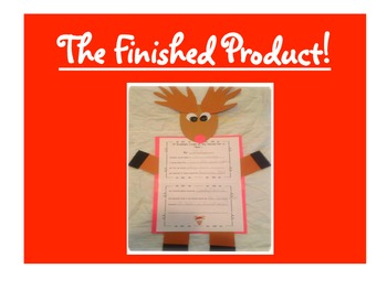 FREE Creative Writing Activity: If Rudolph Came to Live At